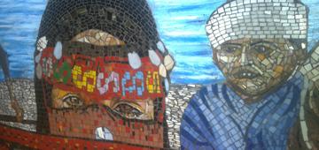 جدارية ابو رديس