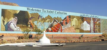 St. Catherine ( nomadic and religious city )
